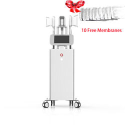 3 Handle Body Cooling Cellulite Removal Cooling Burning Cold Slimming Machine