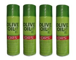 ORS Organic Root Stimulator Olive Oil Nourishing **Sheen Spray** 481ml pack of 4