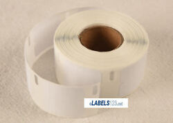 30333 White Blank Paper Rolls W/ 1000 Labels P/r Compatible Dymo® Lw Printers