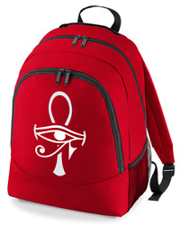 Egyptian Ankh Cross- Graphic Unisex Backpack Rucksack Bag From Fatcuckoo