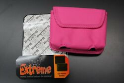 Bulldog Extreme BD-844 Concealed Carry Cell Phone Holster Small 380 9MM PINK NEW