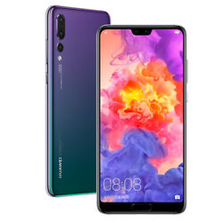 6.1 Huawei P20 Pro Kirin 970 Octa Core Android 8.1 Phone Face Id 40.0mp Nfc