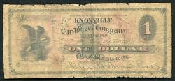1800andrsquos 1 Car Wheel Company Knoxville Tn Obsolete Scrip Note Very Rareandnbsp