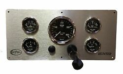 Hunter Sailboat Engine Panel With 5 Gaugesfully Wired Ready To Install Usa Made