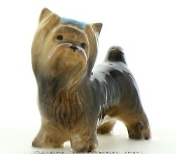 Yorkshire Terrier Miniature Figurine Handmade in America by Hagen-Renaker