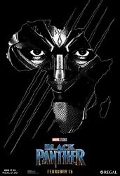 BLACK PANTHER T'Challa New Marvel LIMITED NUMBERED Regal POSTER Art Print 13x19