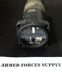 Military Aircraft Aviation Helicopter Instrument Turn And Slip Indicator