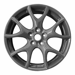 FULL SET - Genuine OEM Mazda RX-8 R3 Alloy Rims (Charcoal Grey Finish) 19