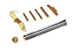 Stainless Guide Rod Adapter Ring Controls Kit For Glock 19 23 32 38 Gen4 Gold