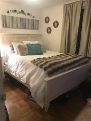 Andnbspqueen 4 Piece Bedroom Set Excellent Condition Raymour And Flanigan Used 2 Yrs