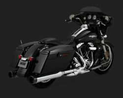 Vance And Hines 16832 Harley-davidson 09-15 Touring Power Dual Slip-on Exhaust