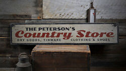 Country Store Sign Wood Country Sign -distressed Wooden Sign