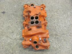 1960 60 Chevrolet Chevy 283 Intake Manifold Dated 3746829 E-25-60