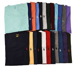 Men Polo Ralph Lauren CREW NECK T Shirt Size S M L XL XXL - STANDARD FIT $32.95