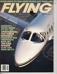 Flying Magazine, September 1986, From Bold To Old Speed Wagon 400 Horse Bonanza