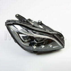 New Genuine MERCEDES Facelift Multibeam LED headlights for LHD car CLS C218.
