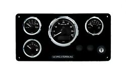 Westerbeke Vdo View Line Series Gauge Set Ready To Install White Edition