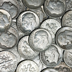 Make Offer 1 Troy Pound Lb Lot 90 Silver Coins Quarters And Dimes 1964 And Older