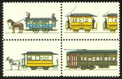 2062b - 20c Trolleys Color Omitted Never Hinged