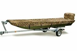 Mossy Oak Marine Camouflage Boat Cover Fits Jon 14 To 15 Ft Boats Beam 54 Inch