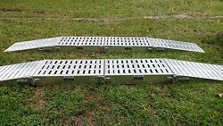 Portable Aluminum Truck or Bus Service Stands Rear Commercial 80,000 lb Capacity