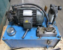 Hydraulic Power Unit Removed From Femco Lathe Item A