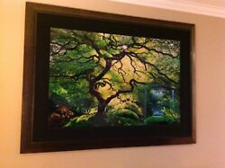 Peter Lik Inner Peace Limited Edition 74/950 Signed Framed COA NEW IN BOX