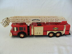 Rare 1995 Gold Limited Edition Sunoco Aerial Tower Fire Truck Serial 007101
