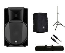 RCF ART 712-A MK4 Active Speaker Monitor + Cover + Stand + Bag + Mogami Cable