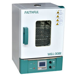 220v High Performance Lcd Forced Air Drying Oven 12andtimes12andtimes12andprime 31andtimes31andtimes31cm 30l New