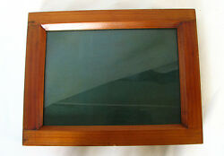 Vintage Professional 4½x6¼ Inch Contact Print Frame Teak Wood Unused