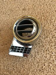1963 Olds 88 Chrome Dash Vent Housing Driver Side !!!NICE!!! and ORIGINAL