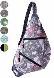 Slope Sling Bag For Women Kids School Crossbody Shoulder Backpack One Strap New