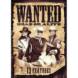 Wanted Dead Or Alive - 13 Features Dvd 2014 2-disc Set Bonanza The Outlaw..