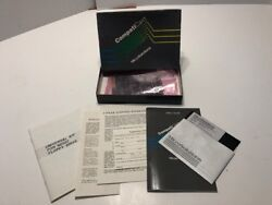 Vintage 1986 Microsolutions Compaticard Floppy Disk Controller W Box And Papers