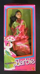 1987 Korean Barbie Dolls Of The World Collection Dotw 4929 Series By Mattel