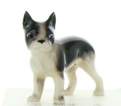 Boston Terrier Miniature Dog Figurine Handmade in USA by Hagen-Renaker