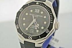 Baume And Mercier Riviera Menand039s Stainless Steel Watch M0a08723