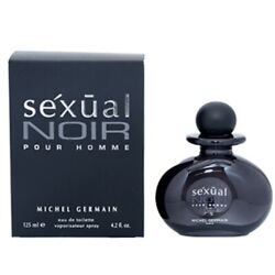 Sexual Noir Pour Homme By Michel Germain 4.2 Oz Edt Cologne For Men New In Box