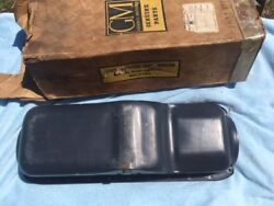 1937 1938 1939 Chevrolet Car / Truck 6 Cyl. V6 Nos Oil Pan 22 Holes W/ Pipes