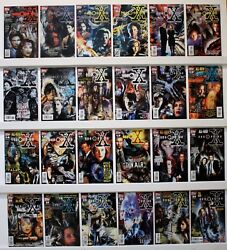 X Files Lot Of 51 Comics  Most Nm  See Below For Issue 3's And Photos