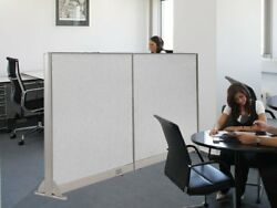 Gof 48h, 60h, 72h Wall Mounted Office Partition, Room Divider, Cubicle, Panel