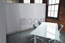 Gof L-shaped Office Partition 108d X 126w X 48h / Freestanding Room Divider