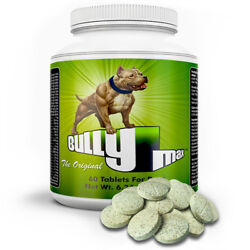 Bully Max Muscle Builder For Dogs 60 Tabs / Supply