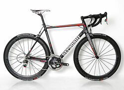 STRADALLI R7 CARBON FIBER ROAD BIKE BICYCLE 56CM SRAM RED 22 11 SPEED LIGHT FSA