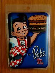 BOB BIG BOY LIGHT SWITCH COVER PLATE coffee shop chef apron red white black