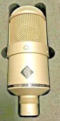 NEUMANN M147 VACUUM TUBE CONDENSER MICROPHONE + SHOCKMOUNT  LOW SERIAL #104