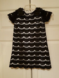 Kate Spade New York Girland039s Skirt The Rules Lace Virginia Black Dress New