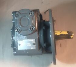 Lenze Right-angle Worm Gearbox Type Nr 52.155.04.20 Id Nr 00378294