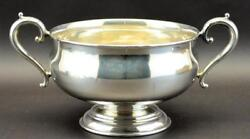 Mappin And Webb Sterling Silver Rose Bowl 12.5 Handle To Handle